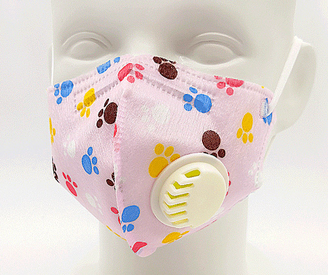 Children mask belt (air valve)